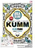 Concert KUMM - live in Panic!