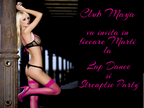 BURLESQUE, LAP DANCE PARTY in Club Maya