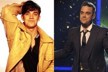 Then & Now: Robbie Williams