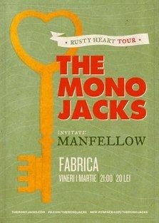 Concert The Mono Jacks in club Fabrica din Bucuresti