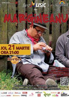 Concert Mihai Margineanu la Hard Rock Cafe