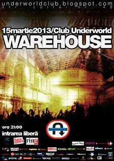 Concert Warehouse in Underworld Club!