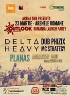 OUTLOOK FESTIVAL 2013 - ROMANIA Launch party @ arena dnb