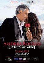 Concert ANDREA BOCELLI si invitatii sai la Romexpo!