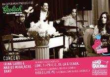 Irina Sarbu & Marius Mihalache la Guerrilive Acoustic Session