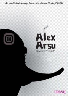 Concert Alex Arsu in Vertigo Club