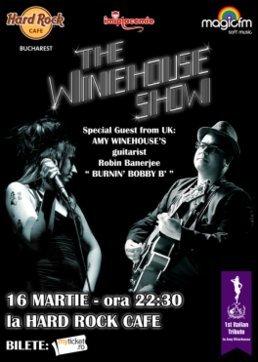 Tribut AMY WINEHOUSE in Hard Rock Cafe din Bucuresti