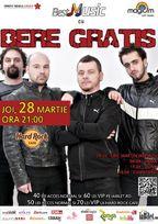 Concert Bere Gratis la Hard Rock Cafe