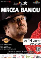 Concert Mircea Baniciu in Hard Rock Cafe