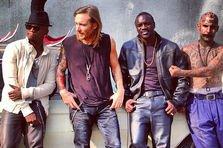 Poza zilei: David Guetta, Ne-Yo si Akon