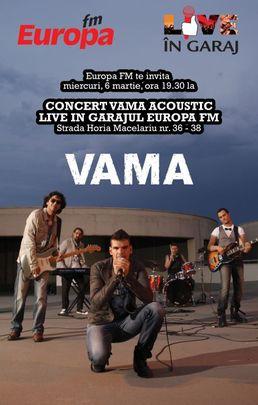 Vama acoustic in Garajul Europa FM