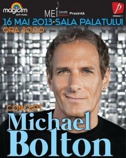 Concert Michael Bolton la Sala Palatului!