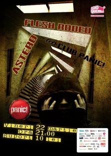 Concert ASTERO si FLESH Rodeo in Club Panic!