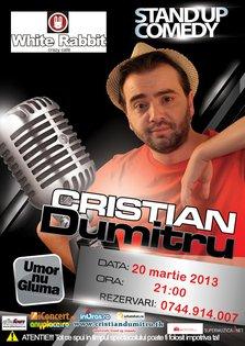Stand Up Comedy la Sibiu cu Cristian Dumitru