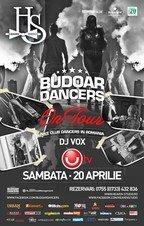 Budoar Dancers & UTV - Primul show televizat @Heaven Studio Timisoara
