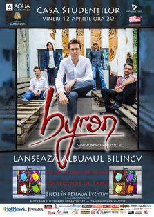 byron: Infusion si lansare album la Iasi