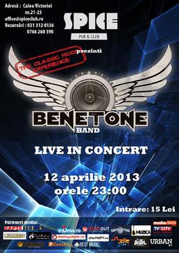 BENETONE Band LIVE in Spice Club
