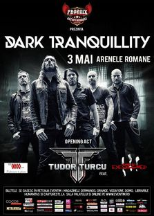 Concert Dark Tranquillity si Tudor Turcu la Bucuresti (program)