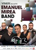 Concert Emanuel Mirea Band in True Club!