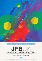 Party cu JFB, Alpha Bite, DJ Marwan @Club Midi