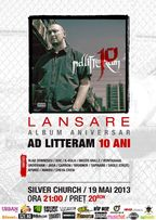 Lansare album Ad Litteram - 10 in The Silver Church!