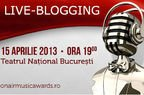 Diseara: live-blogging la On Air Music Awards 2013!