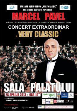 Concert Marcel Pavel - lansare Very Classic la Sala Palatului
