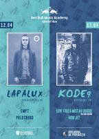 Red Bull Music Academy special duo Lapalux & Kode9!