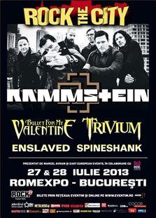 Rock The City 2013 la Romexpo Bucuresti