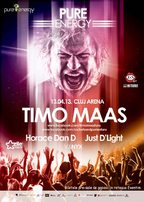 Pure Energy: TIMO MAAS @ Cluj Arena!