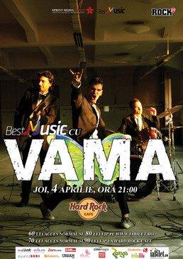 Concert VAMA in Hard Rock Cafe din Bucuresti