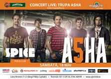 Trupa Asha LIVE in Spice Club