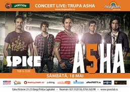 Trupa Asha LIVE in Spice Club