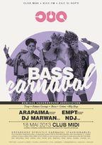DUA Bass Carnaval in Cub Midi!