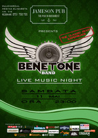 Concert BENETONE Band LIVE in Jameson Pub