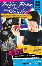 Concert Irina Popa & The Sinners in Tete-A-Tete!