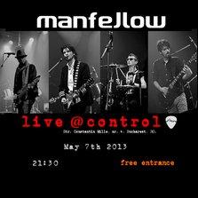 Concert Manfellow in Club Control