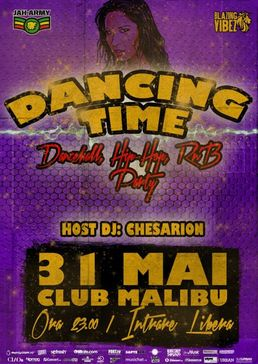 Dancing Time - Free Dancehall, Hip Hop and R'n'B Party