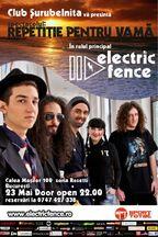 Concert Electric Fence @ Club Surubelnita Bucuresti