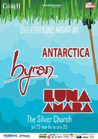 Overground Night #1: Luna amara, byron si Antarctica in The Silver Church