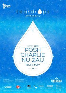 Teardrops afterparty cu Posh, Charlie si Nu Zau in Studio Martin