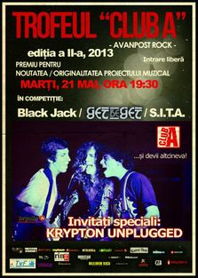 Trofel Club A 2013. Invitati Krypton Unplugged