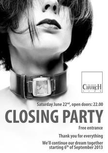 Closing Party @ The Silver Church Club Bucuresti!