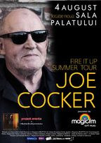 JOE COCKER in concert la Sala Palatului