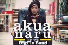 Concert Akua Naru & The Digflo Band la Bucuresti - castiga invitatii