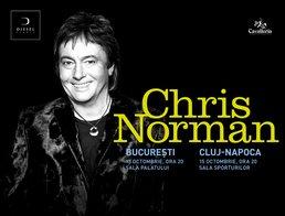 Concert Chris Norman la Bucuresti si Cluj Napoca