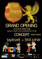 Concert Tapinarii si Fara Zahar la Club Antiqum