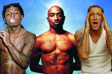 Top 10 cele mai cool tatuaje ale rapperilor