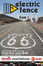 Electric Fence live session @ Route66 Club