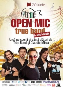 Open Mic cu True Band in True Club!
